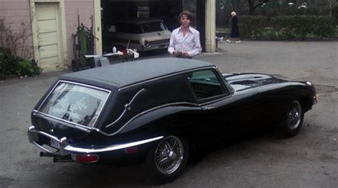 hell on wheels jaguar xke hearse harold maude