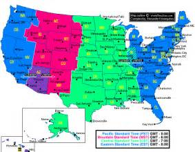 Michigan Time Zone Map by Time Zones United States Amp World Mr Braden S Homepage