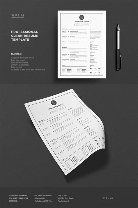 Resume Template Smith by Smith Resume Template 65425