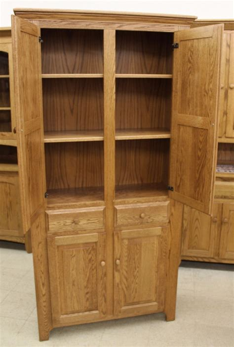 Pantry With Drawers by Pantry Cabinet With Drawers Amish Traditions Wv