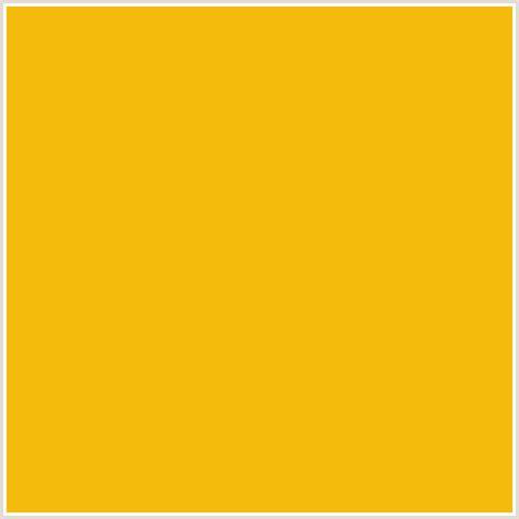 hex color yellow f5bb0c hex color rgb 245 187 12 buttercup orange