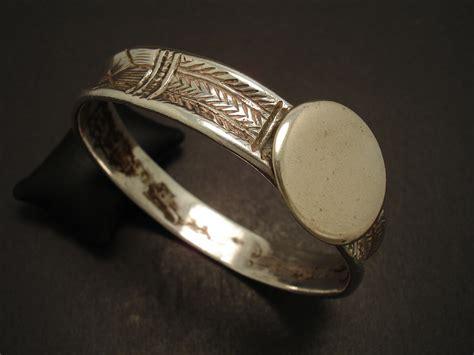 Handcrafted Silver Jewellery Australia - handmade silver tribal bangle christopher william