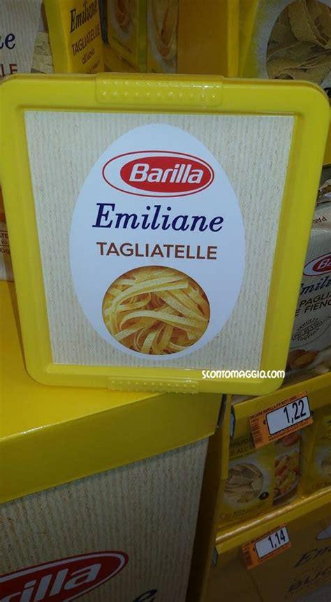 porta pasta porta pasta emiliane barilla in omaggio scontomaggio