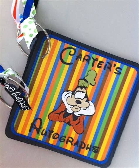 Handmade Disney Autograph Books - 17 best images about disney theme on disney