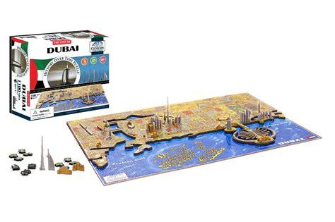 Puzzle 4d by 4d Cityscape Puzzle Dubai De Forente Arabiske Emirater