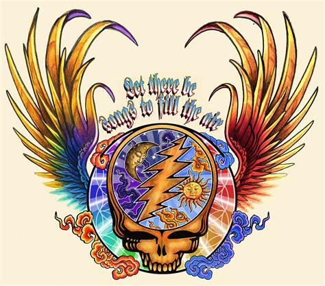 steal your face tattoo designs grateful dead by badfish1111 on deviantart