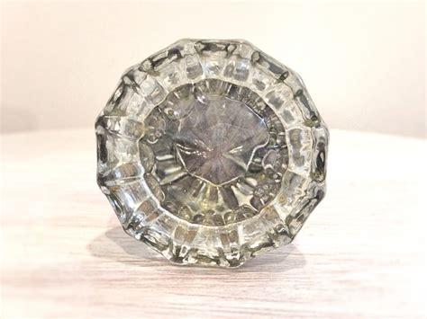 Vintage Glass Door Knobs by Antique Glass Door Knobs Set Glass By