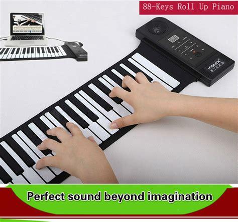 Usb Roll Up Piano new usb midi 88 silicon roll up piano