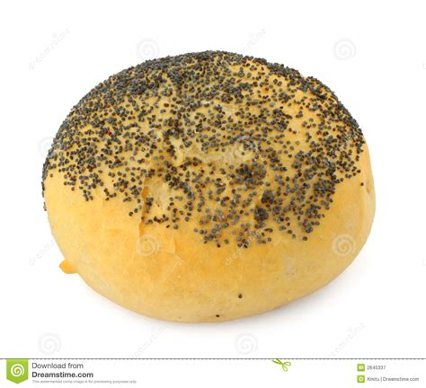 poppy seed buns poppy seed bun royalty free stock photography image 2645337