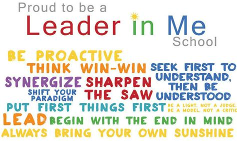 the leader in me how schools around the world are inspiring greatness one child at a time warburg school