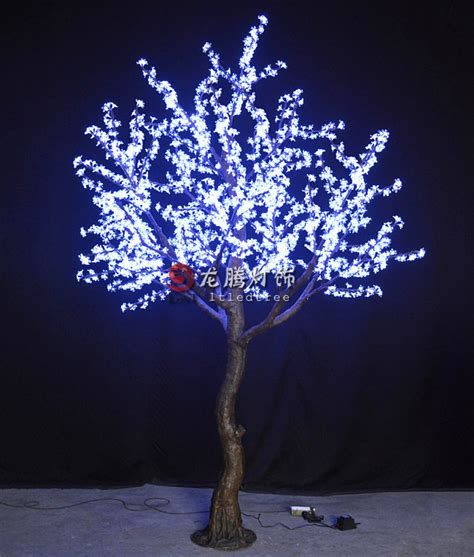 new design light up tree project building decoration view