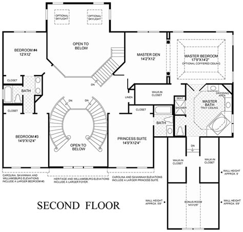 double staircase floor plans house plan with a double staircase joy studio design