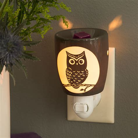 scentsy owl warmer light bulb owl nightlight warmer buy scentsy the safest candles