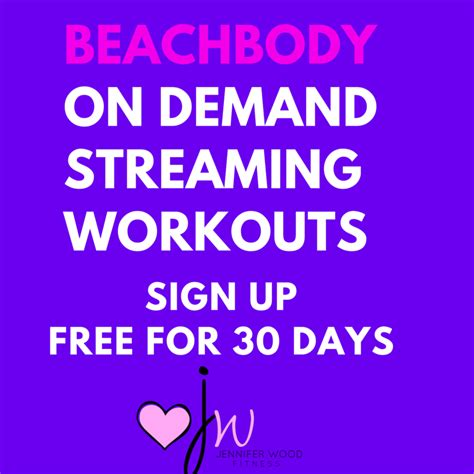 day on demand wood fitness how to sign up for beachbody
