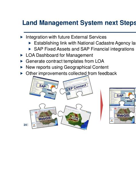 Land Data Management Integrated Solution In Ovm Petrom Sa System Integration Contract Template