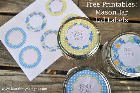 free printable christmas mason jar lid labels 5 best images of free printable labels mason jar top