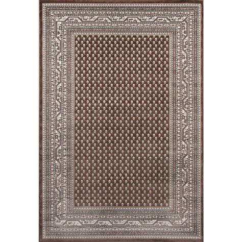 momeni outdoor rugs momeni dakota brown 2 ft x 3 ft indoor outdoor area rug dakotdak18brn2030 the home depot