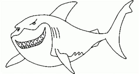 coloring pages of fish and sharks gre pictures of great white shark coloring pages at