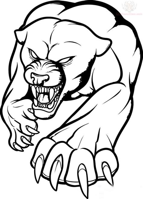 coloring page of a wolf s face wolf face outline az coloring pages