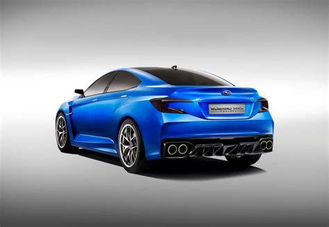 subaru concept cars next gen subaru wrx previewed by new concept