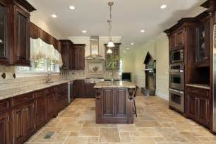 large kitchen cabinets the best kitchen flooring options love home designs