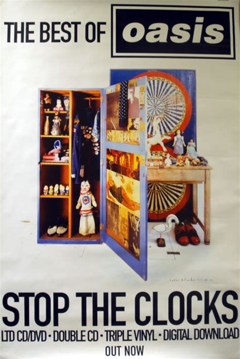 oasis best of oasis stop the clocks vinyl records lp cd on cdandlp