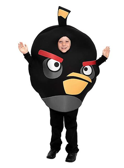 fancy dress costume adult gaming cartoon angry birds red med 38 40 angry birds kids costume black