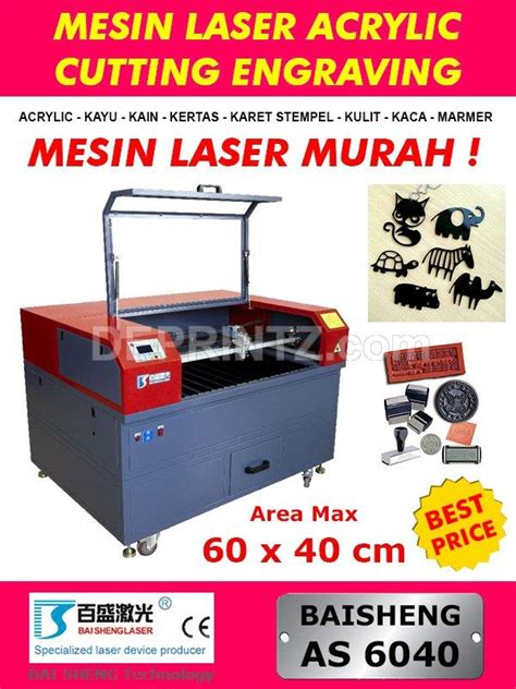 Mesin Laser Cutting Jual Mesin Laser Cutting Acrylic Mini As 6040 Harga Murah