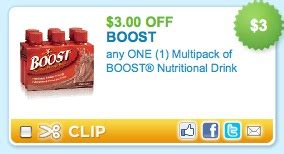 $3/1 boost coupon + rite aid deal