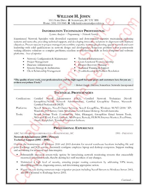 Sample Resume Canada – Canadian resume format