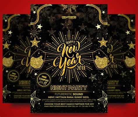 new year design psd happy new year flyer free psd thumb2
