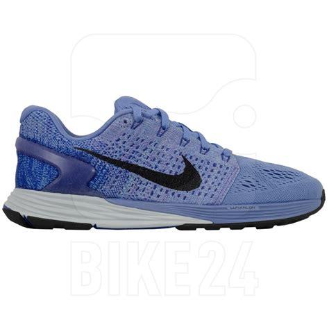 white blue womens nike lunarglide 7 shoes
