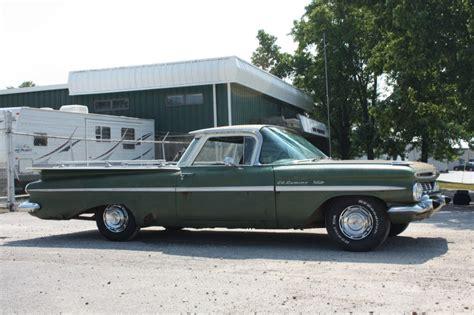 1959 chevrolet el camino for sale 1959 chevrolet el camino patina rod for sale