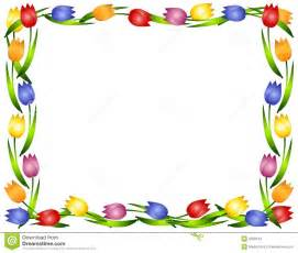 Tropical Themed Photo Christmas Cards - spring tulips flower frame or border stock images image
