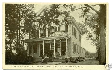 Whitehouse Post Office by Annandale New Jersey History