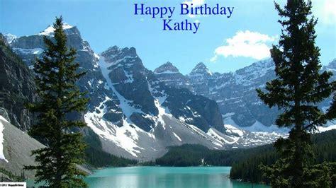 kathy happy birthday nature happy birthday youtube