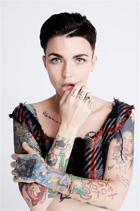ruby rose tattoo the ultimate style icon ruby ohh my my
