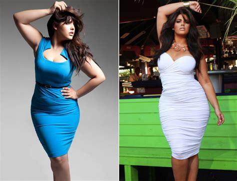 plus size model denise bidot denise bidot hispanic plus size model wants girls to