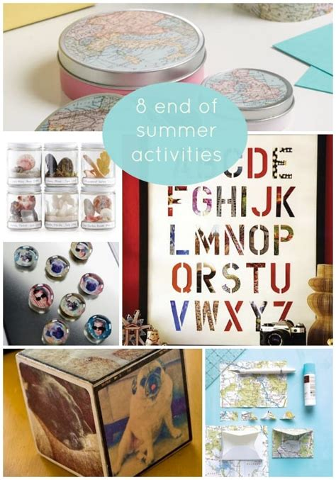 end of summer crafts for 8 end of summer activities for the family mod podge rocks