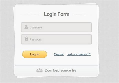 free login layout css 35 free css3 html5 login form templates