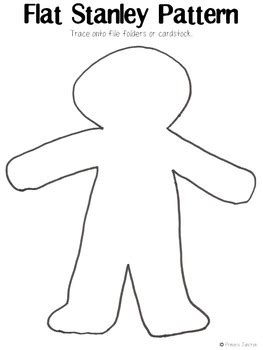 Flat Stanley Template Compatible Capture Original 3 Project Guide Scholarschair Flat Stanley Template Blank