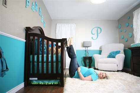 rugs for baby room boy inspiring modern two tone blue and gray baby boy room ideas with baby crib also white fur