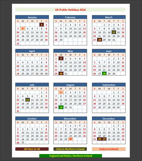 2016 Calendar Easter 2016 Uk Holidays Uk Holidays
