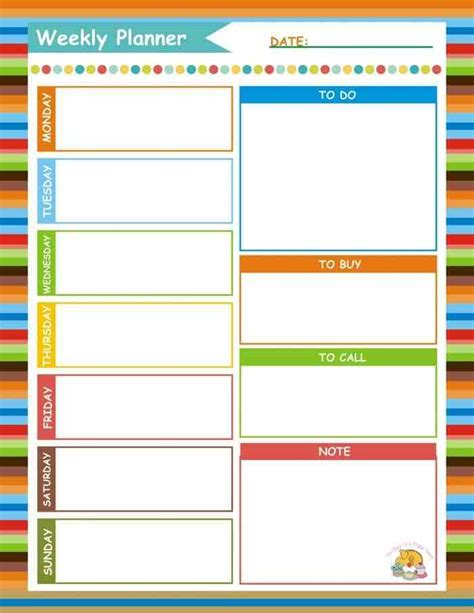 planner online free how just 15 minutes on a sunday can make the rest of your