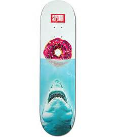 skateboard decks superior jaws donut 8 125 quot skateboard deck