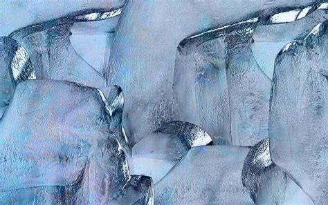 Paintings For Home Decor Blue Ice Painting By Jack Zulli