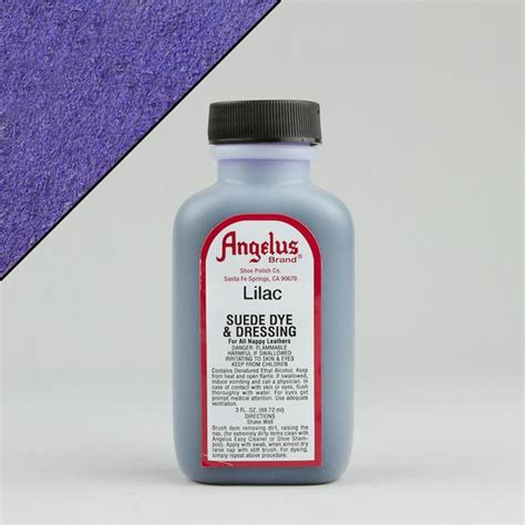angelus paint sealer angelus leather paint dyes lilac suede dye 3oz