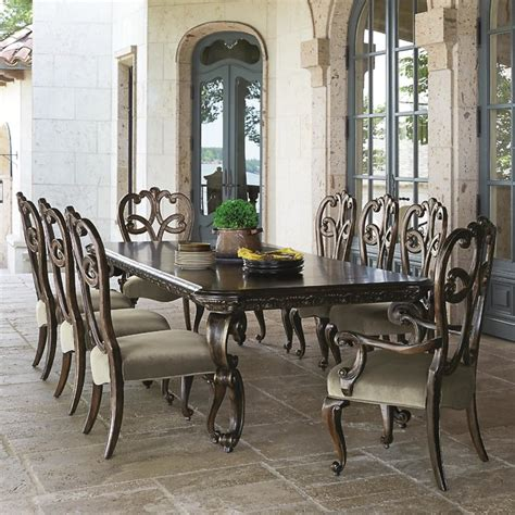 bernhardt dining room sets bernhardt villa medici piece dining set with splat back