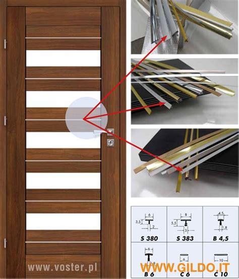 profili porte profili per porte da interni e antine by gildo profilati italy