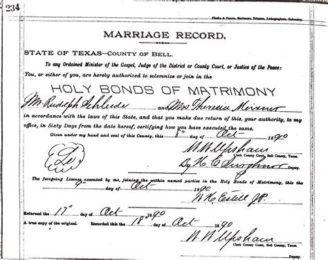 Online marriage license dallas tx